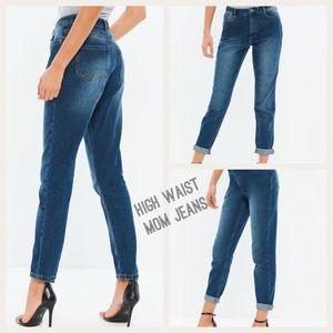 Misguided Roit High Waist Mom Jeans High Rise